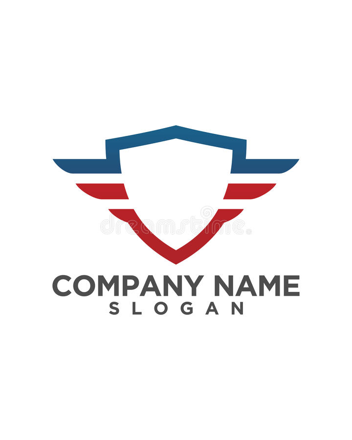 Shield Logo Template Vector Icon Design Stock Illustration ...