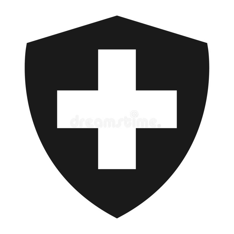 Free Shield Protect Icon, Safety Symbol, Defense Logo, Web Button, Internet Security Royalty Free Stock Images - 176634649