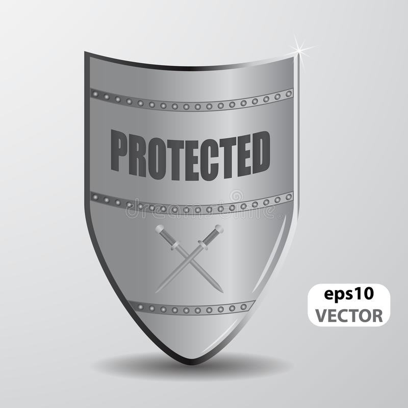 Download Shield - protected stock vector. Image of insignia, protection - 23540398