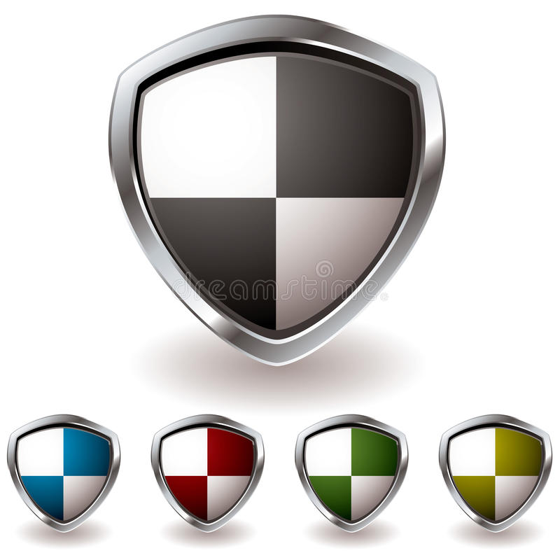 Download Shield quaters stock image. Image of heraldic, classic - 13646797