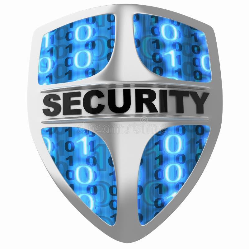 Shield security stock illustration