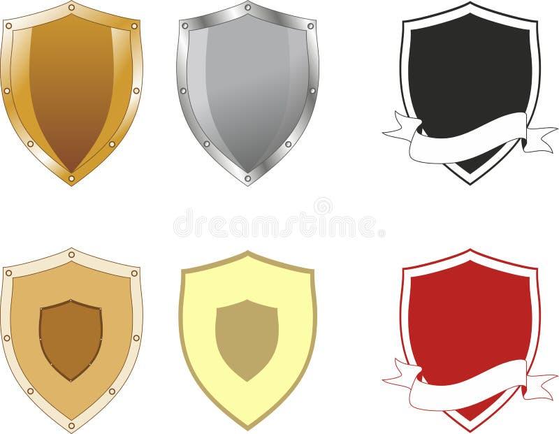 Download Shield Shapes Stock Vector Illustration Of Emblem