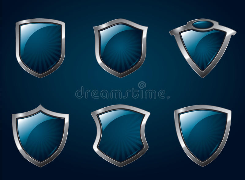 Download Shields stock vector. Image of armor, armour, emblem - 14831143