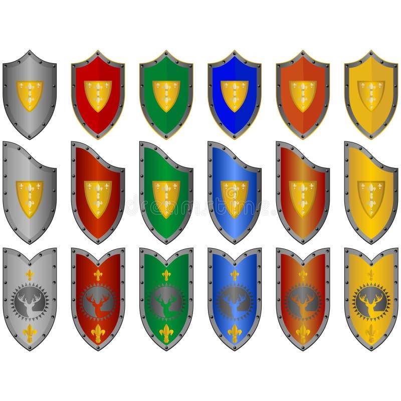Shields stock illustration