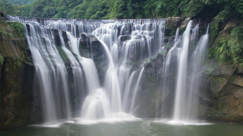 Shifen Waterfall taiwan stock photography