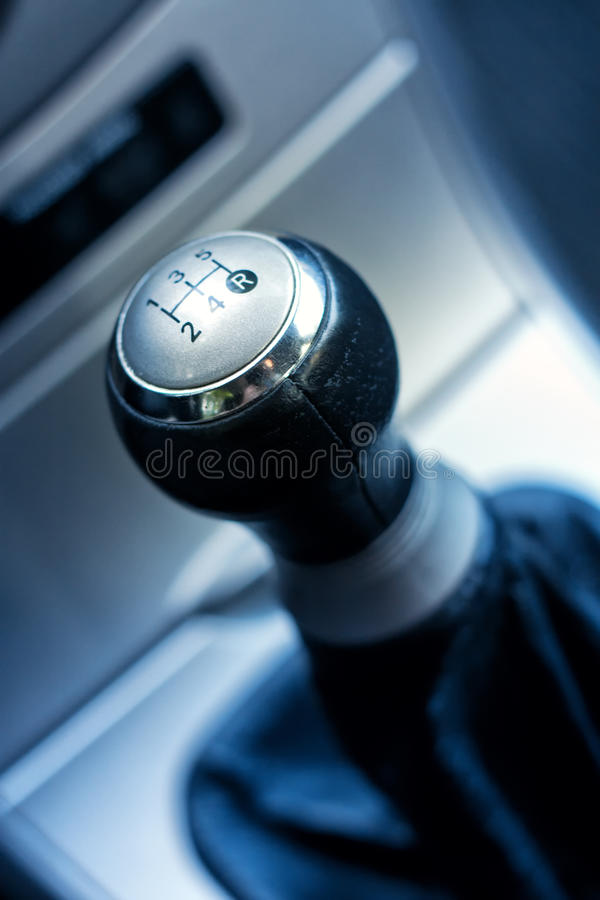 Shift Gear. Vehicle shift gear close up royalty free stock images