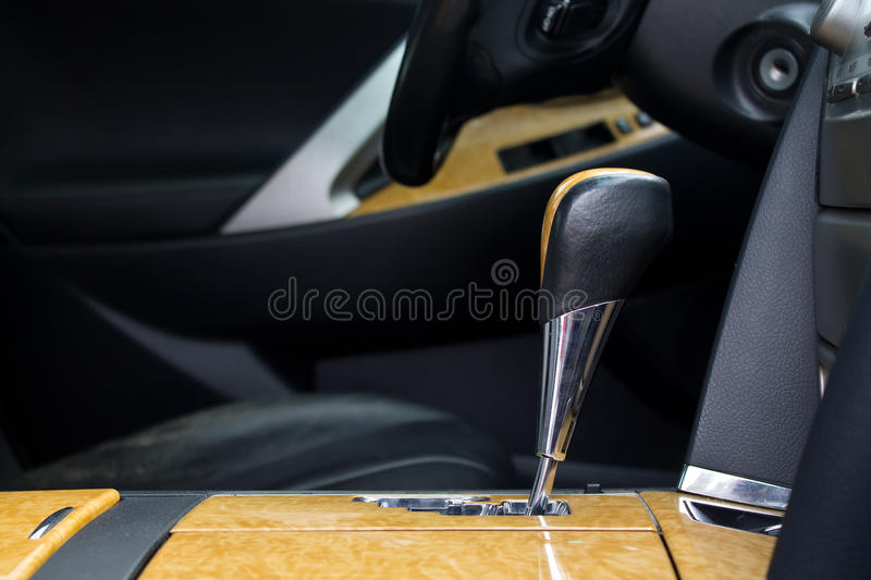 Shift lever royalty free stock images