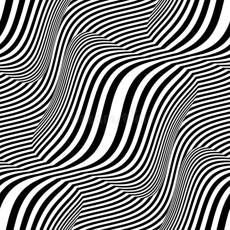 Shift stripes royalty free illustration
