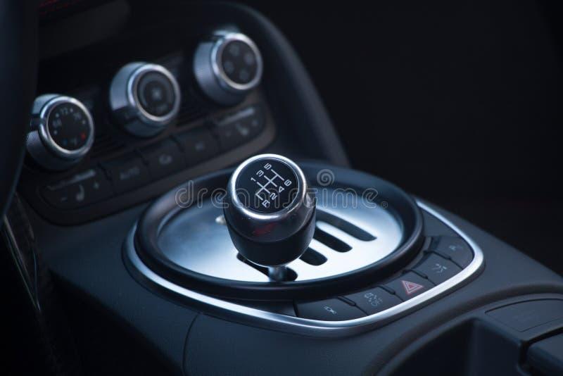 Audi R8 Shifter royalty free stock photos