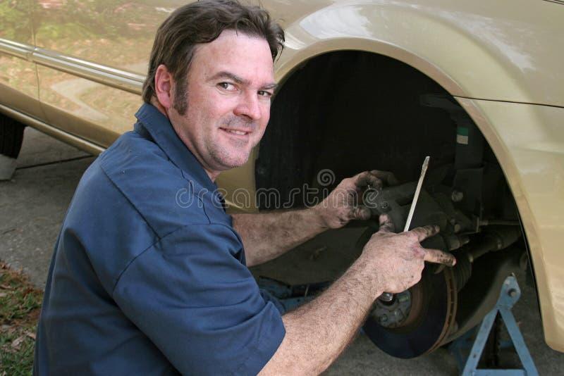 Shifty Mechaniker lizenzfreie stockfotos