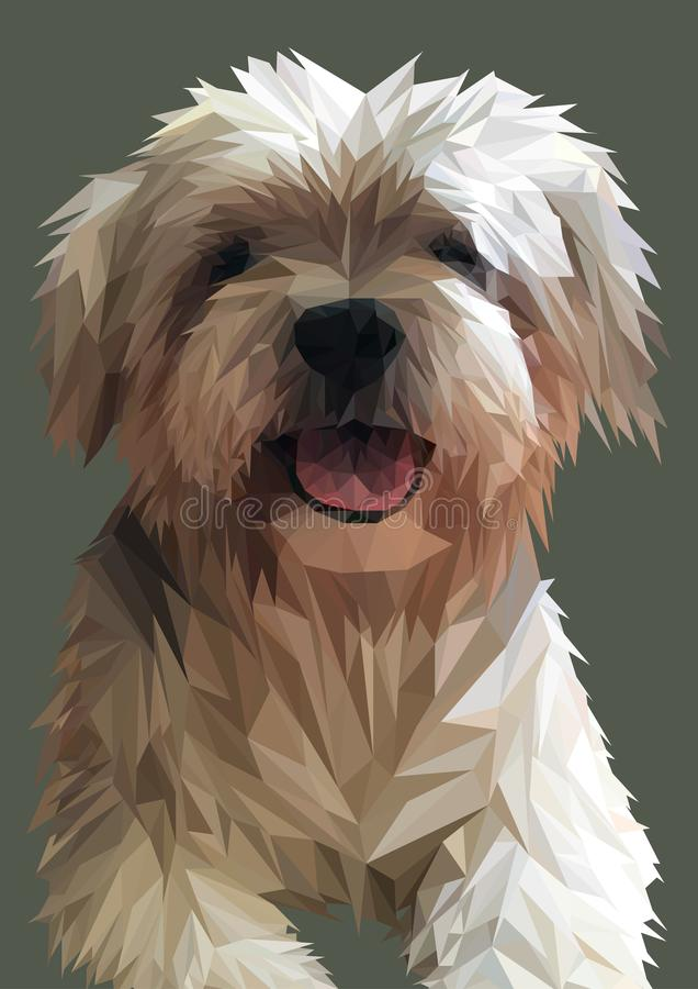 Low Poly Dog Stock Illustrations 654 Low Poly Dog Stock