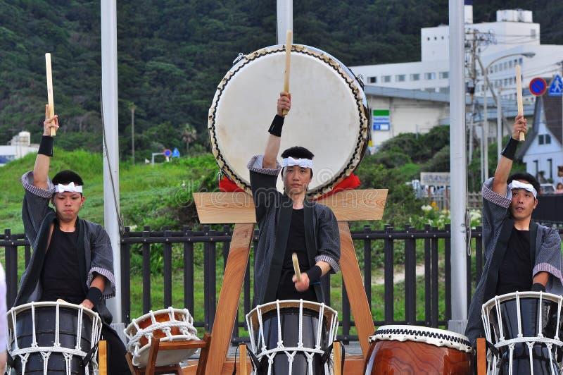 Shiharama Hanabi Festival royalty free stock image