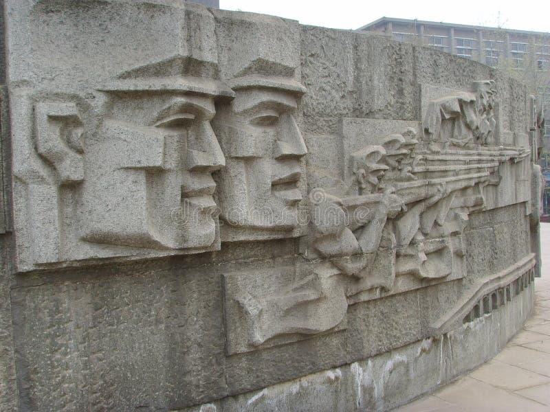 Shijiazhuang, памятник высвобождения стоковое изображение