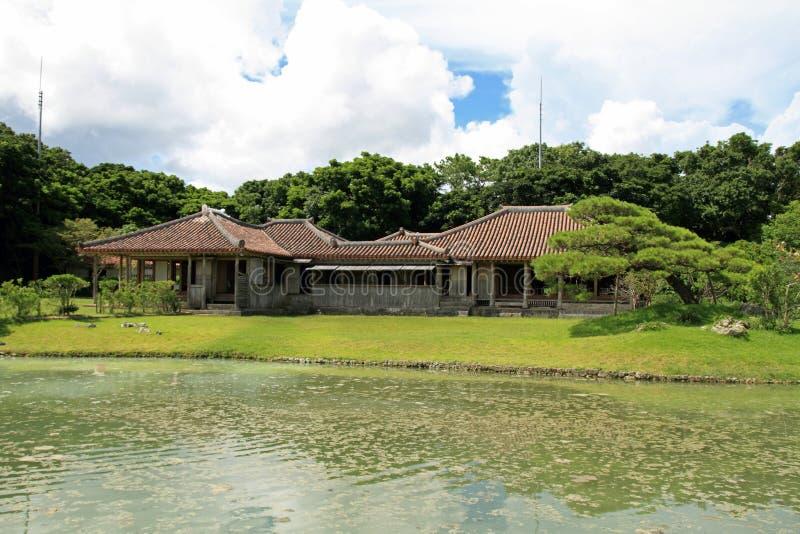 Shikina-en in Okinawa stockbild