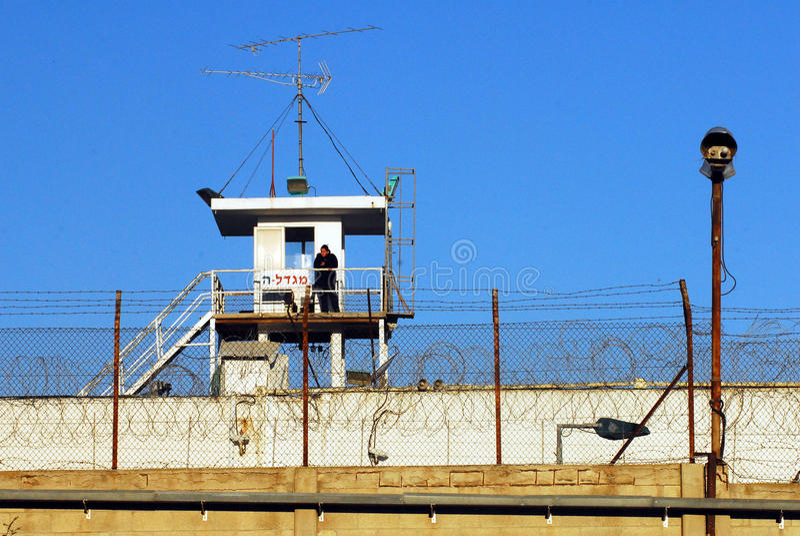 Shikma监狱-以色列 图库摄影