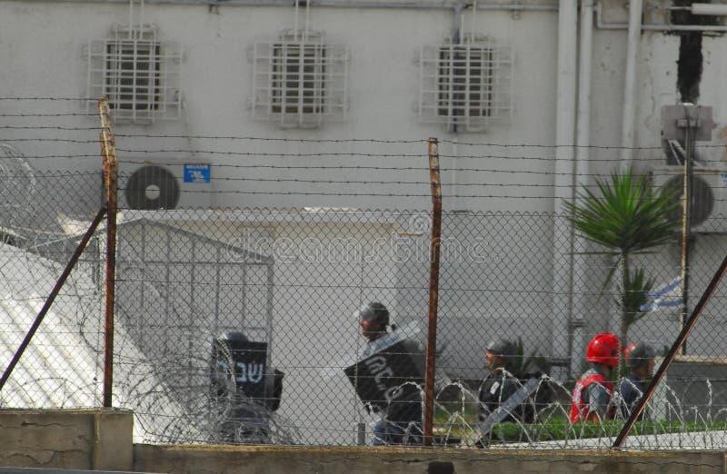 Shikma-Gefängnis - Israel stockfotos