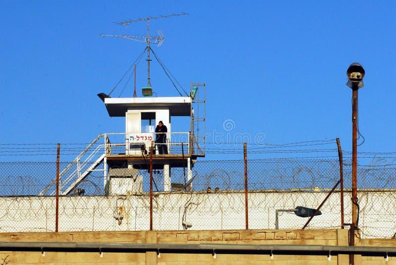 Shikma-Gefängnis - Israel stockfotografie