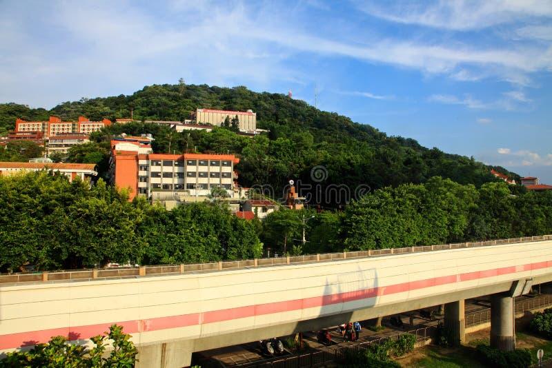 Shilin area,Taibei,Taiwan. stock image