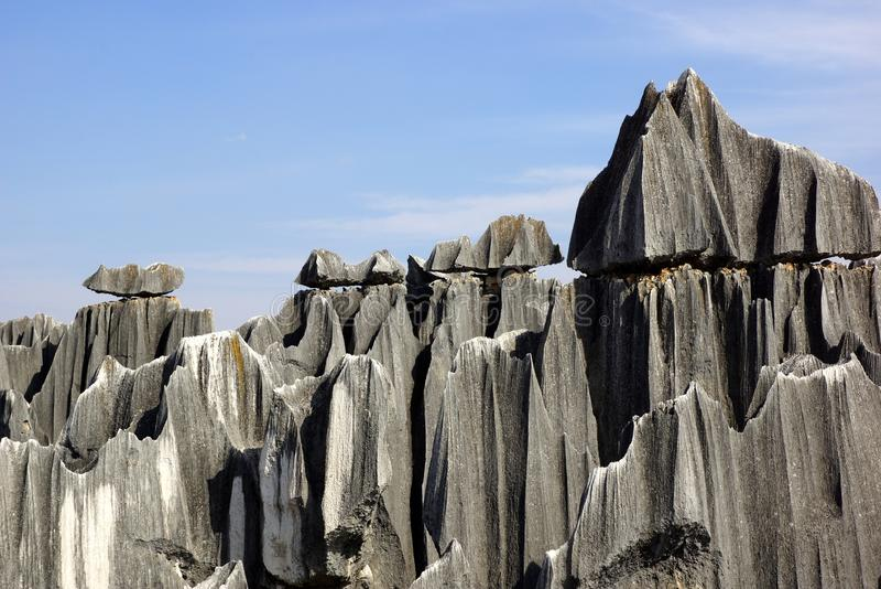 Shilin kamienia las w Kunming, Yunnan, Chiny fotografia royalty free