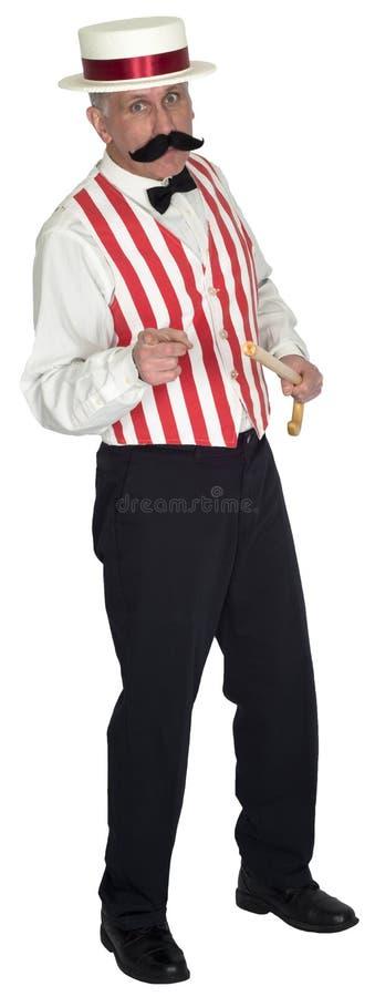 Shill, vendedor ambulante, ventas, vendedor, comercializando imagen de archivo libre de regalías