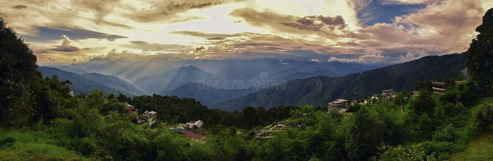 Shillong peak royalty free stock images