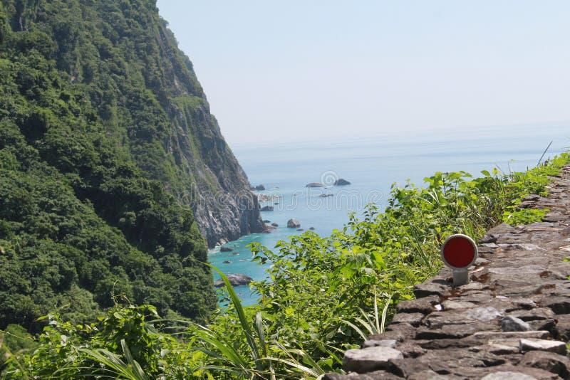 Shimizu cliff stock photo