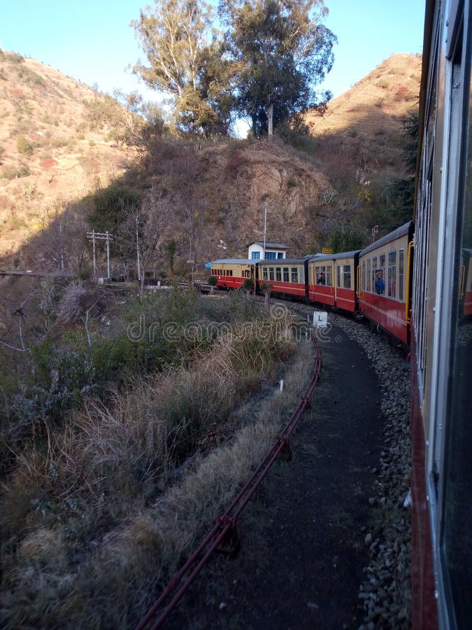 Shimla στο himachal pradesh Ινδία στοκ φωτογραφίες με δικαίωμα ελεύθερης χρήσης