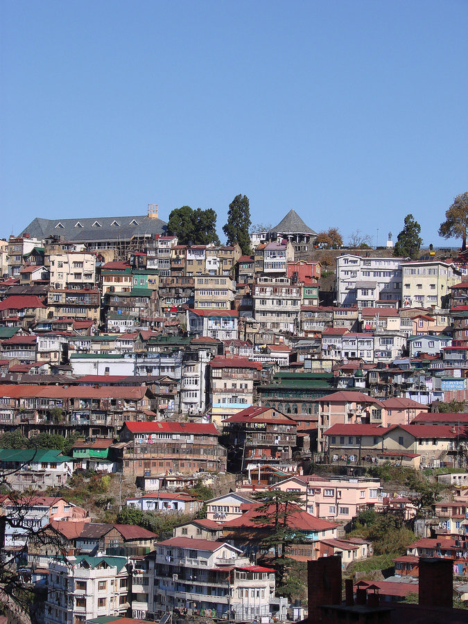 Shimla royalty free stock image