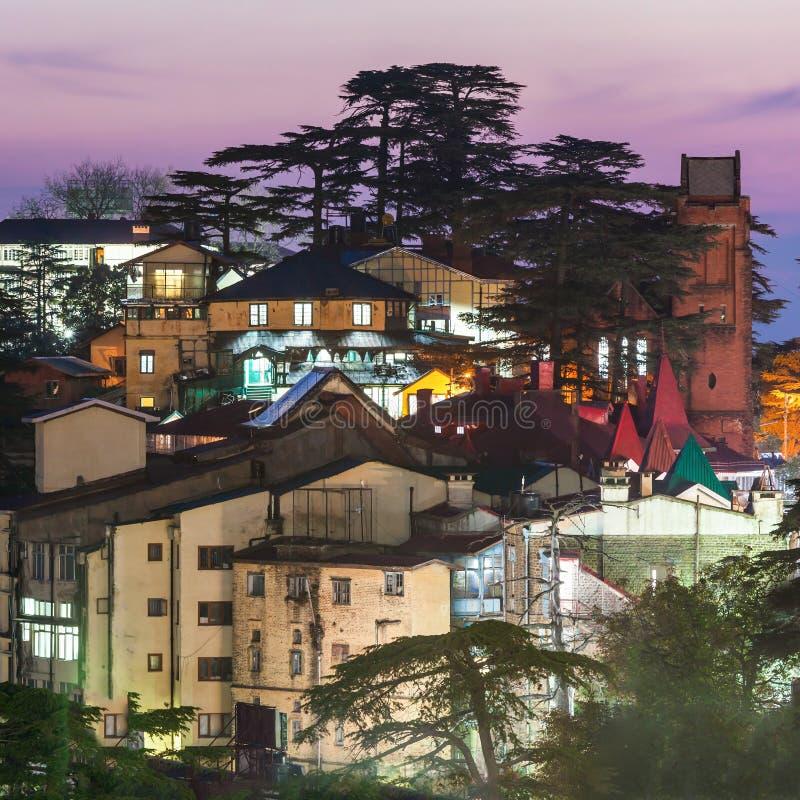 Shimla in India stock foto