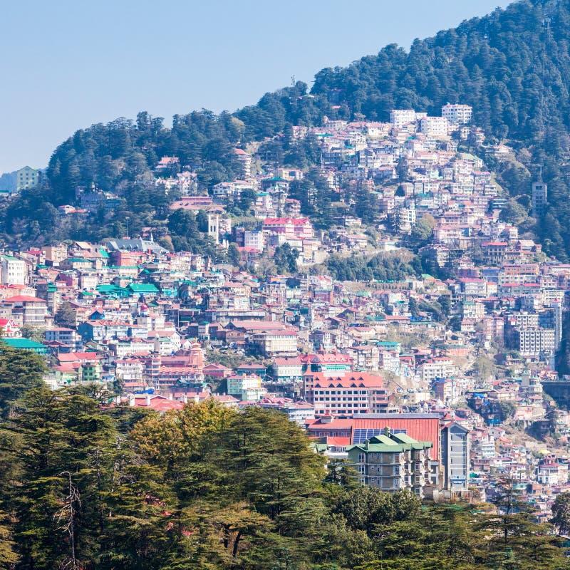 Shimla in India stock foto's