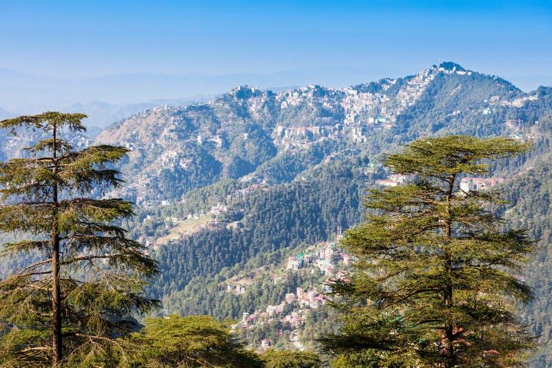 Shimla in India royalty-vrije stock foto