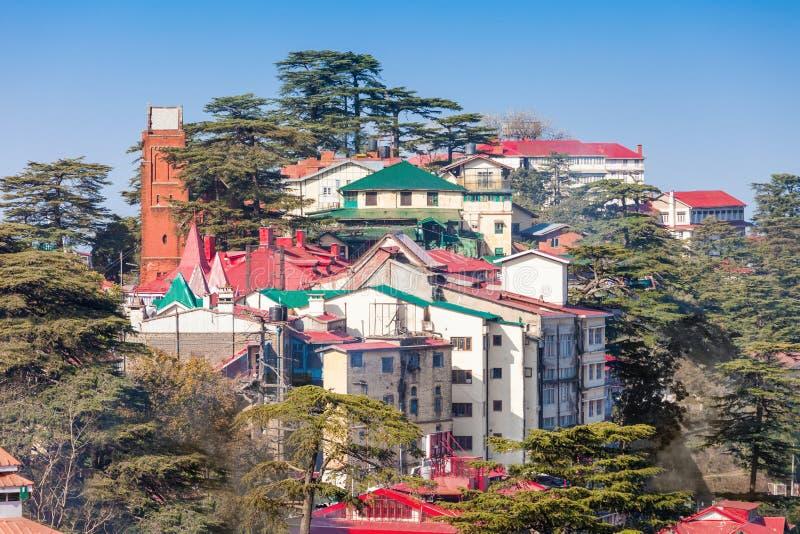 Shimla in India royalty-vrije stock fotografie