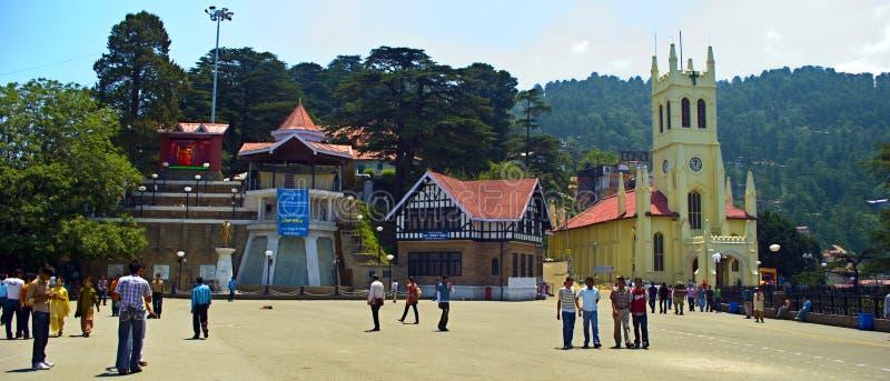 Shimla-Mall stockbild