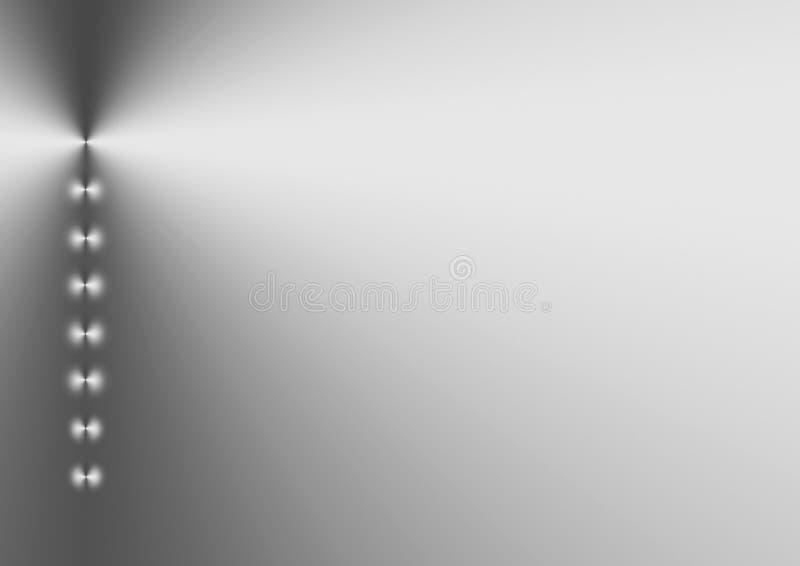 shimmer ασήμι διανυσματική απεικόνιση