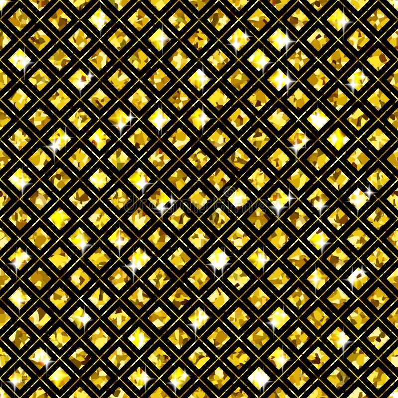 Shimmer Rhombus ilustracja wektor