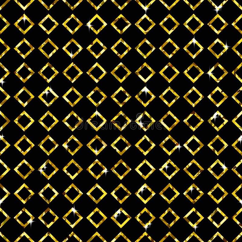 Shimmer Rhombus royalty ilustracja