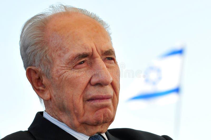 Shimon Peres - 9o presidente de Israel imagem de stock royalty free