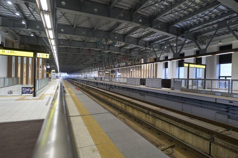 Shin Takaoka station royalty free stock photography