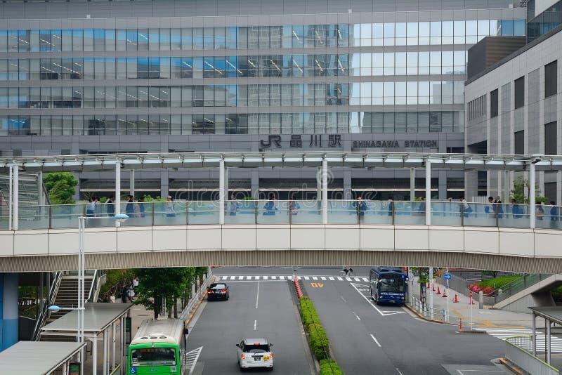 Shinagawa驻地,东京,日本 库存图片