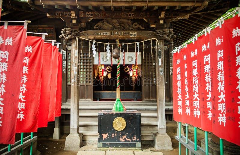 Shinagawa relikskrin - Shinagawa Jinja arkivbild