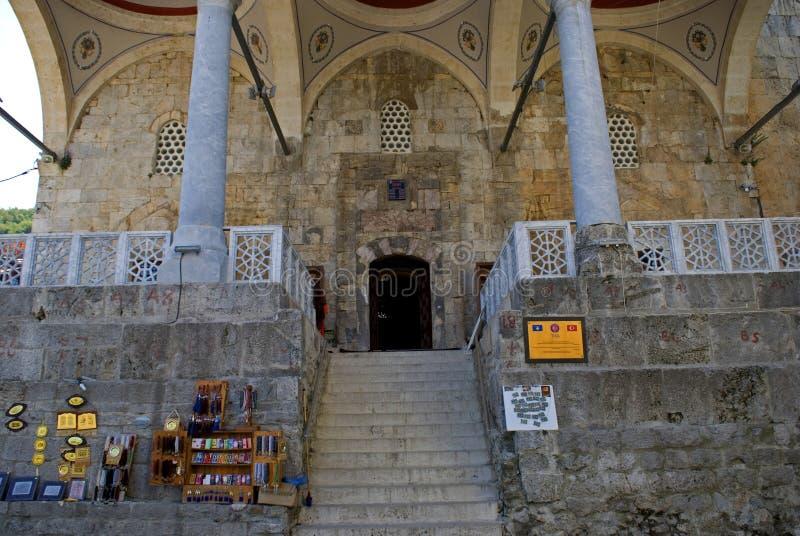 Shinan巴夏清真寺,普里兹伦,科索沃 库存照片
