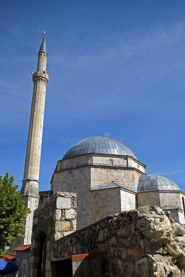 Shinan Pasha Mosque, Prizren, il Kosovo fotografie stock