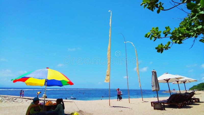 Shindu海滩 免版税库存照片