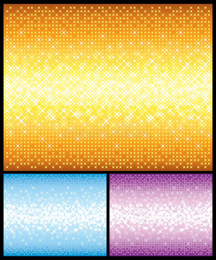 Download Shine backgrounds set stock illustration. Image of light - 14017475