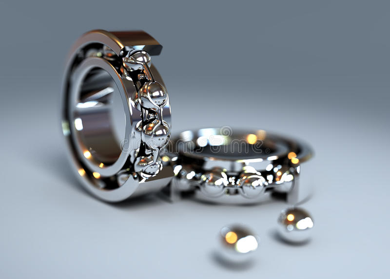 Shine bearing royalty free stock photography
