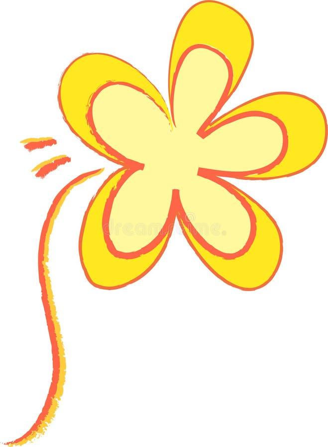 Shine-Blume lizenzfreie stockfotografie
