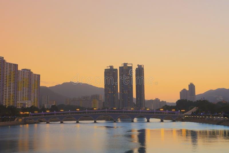 Shing Mun rzeka, Shatin, Hong Kong zdjęcie royalty free
