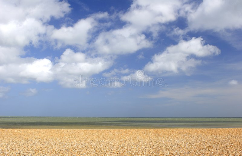 Shingle Beach Stock Image