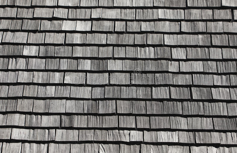 Shingle Roof Pattern Royalty Free Stock Photos Image