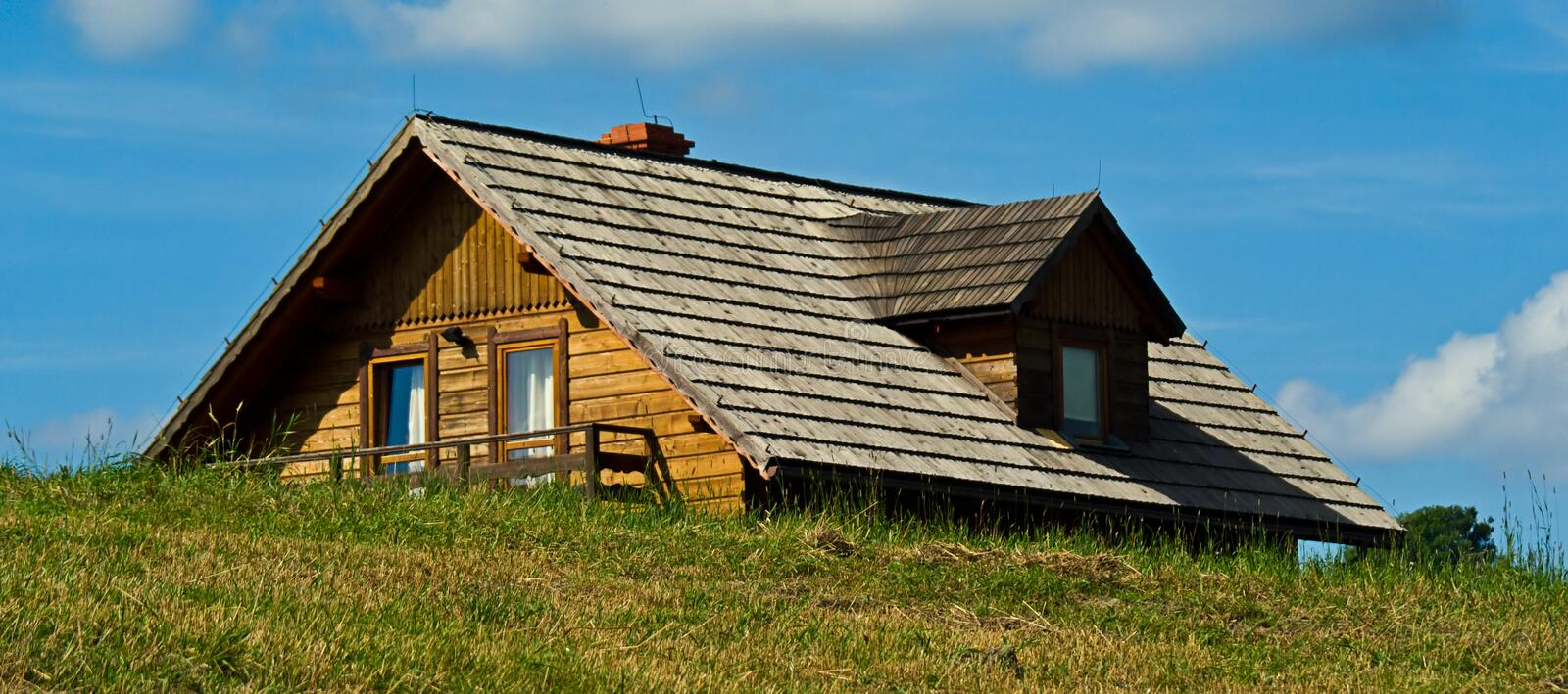 Download Shingles roof stock photo. Image of country, countryside - 12364340